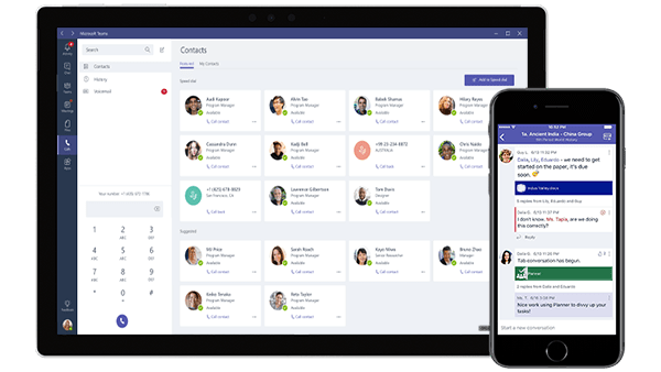 Microsoft Teams Direct Routing on Mobile Devices