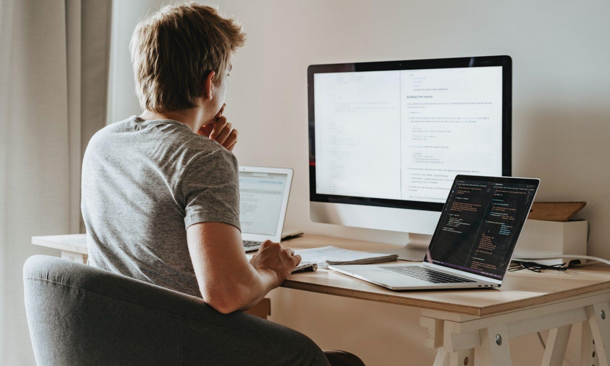 remote-working-desk